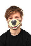 grizzly bear face mask face guard