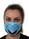 blue dragon face mask face guard