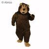 boris bear brown mascot costume