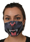 panther face mask face guard