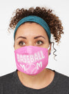 baseball mom face mask face guard