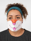 kitty cat face mask face guard
