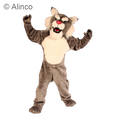 power cat wildcat mascot costume