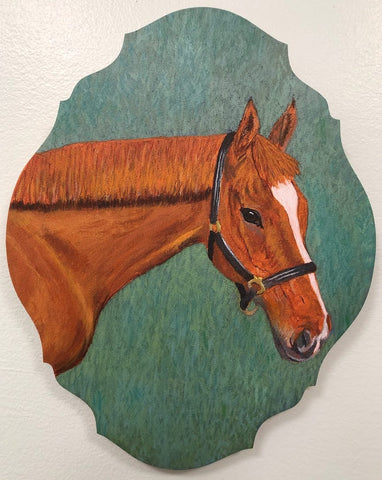 Horse Painting of Sunny