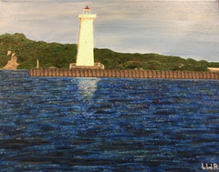 Light house paining