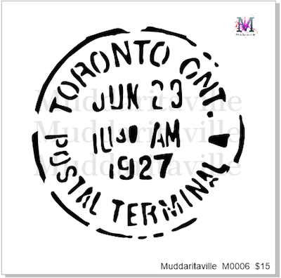 M0006 Toronto Postal Cancellation Mark