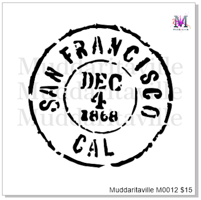 M0012 San Francisco Postal Cancellation Mark