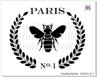M0024 Paris Bee Laurel