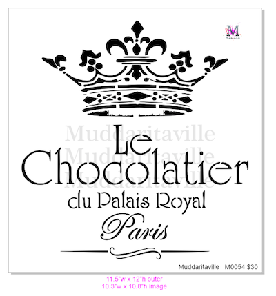 M0054 Le Chocolatier with Crown