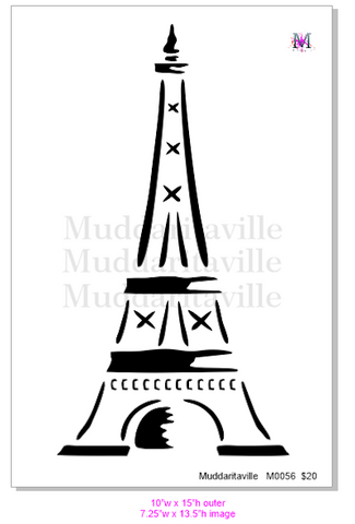 M0056 Whimsical Eiffel tower