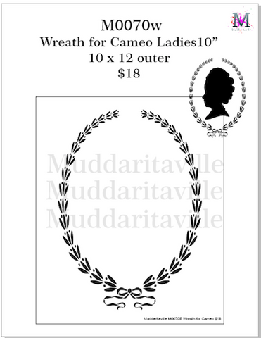 M0070w Wreath for Cameo Ladies
