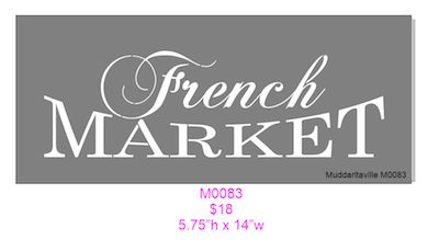 M0083 French MARKET
