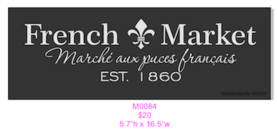 M0084 French Market 2