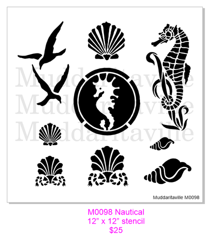 M0098 Nautical assortment
