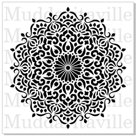 M0156 Decorative Mandala - available in 4 sizes