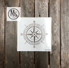 M0166 Detailed Compass Rose - Now in 3 sizes
