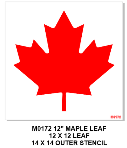 M0172 Large Maple Leaf