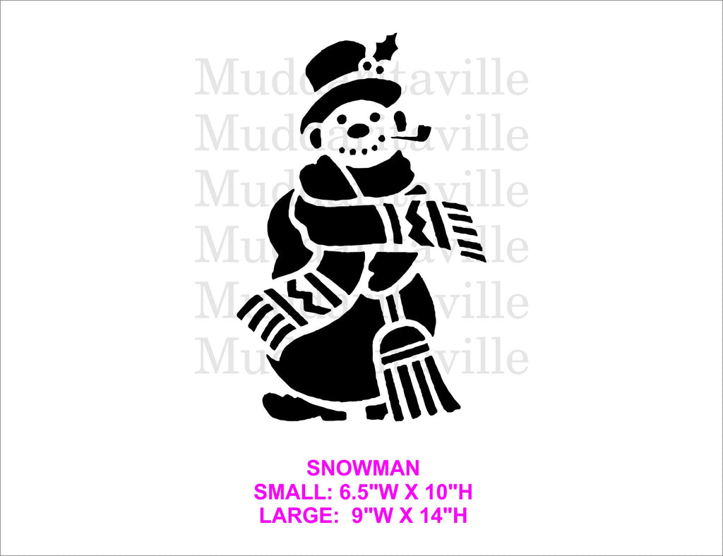 M0188 Snowman - 2 sizes available