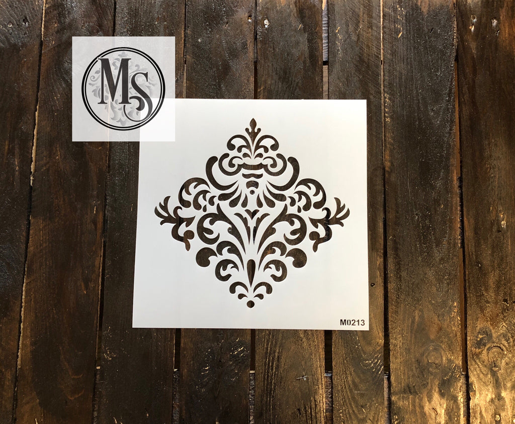 M0213  Decorative Damask