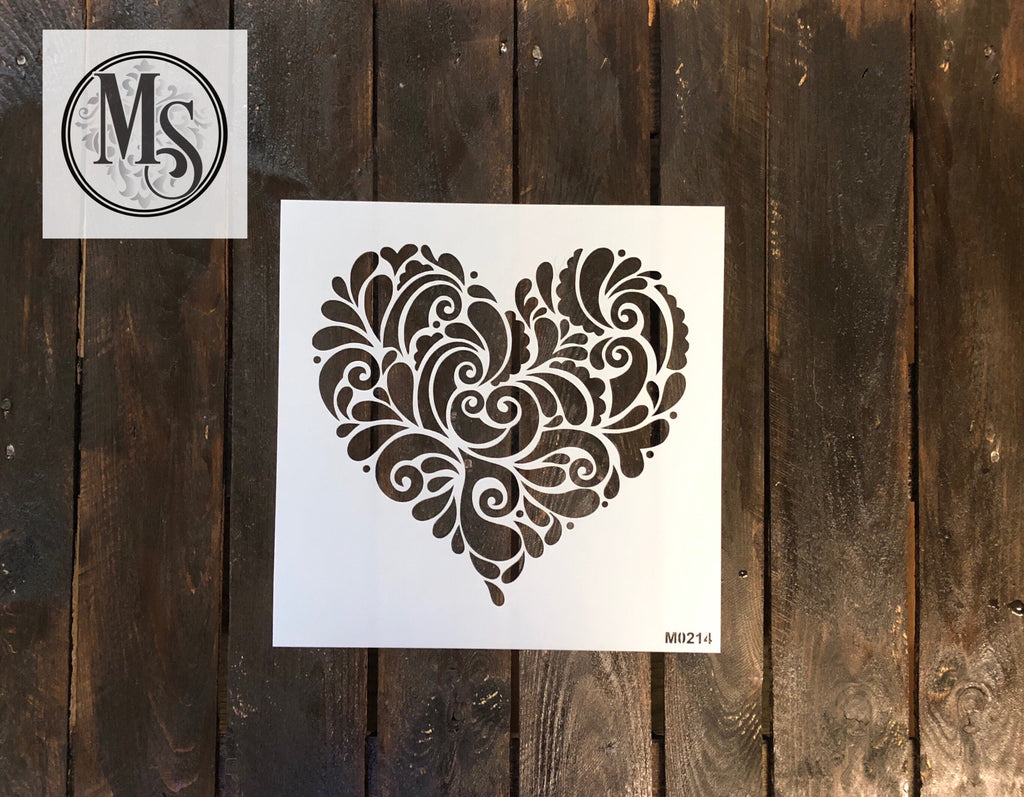 M0214 Decorative Heart - 2 sizes