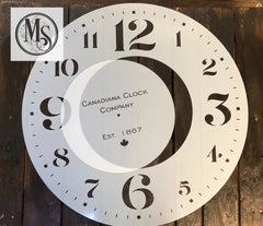 "M0219 Canadiana Clock - 24"" only"