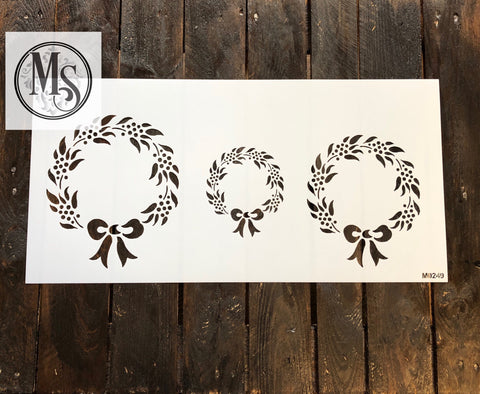 M0249 Christmas Wreaths