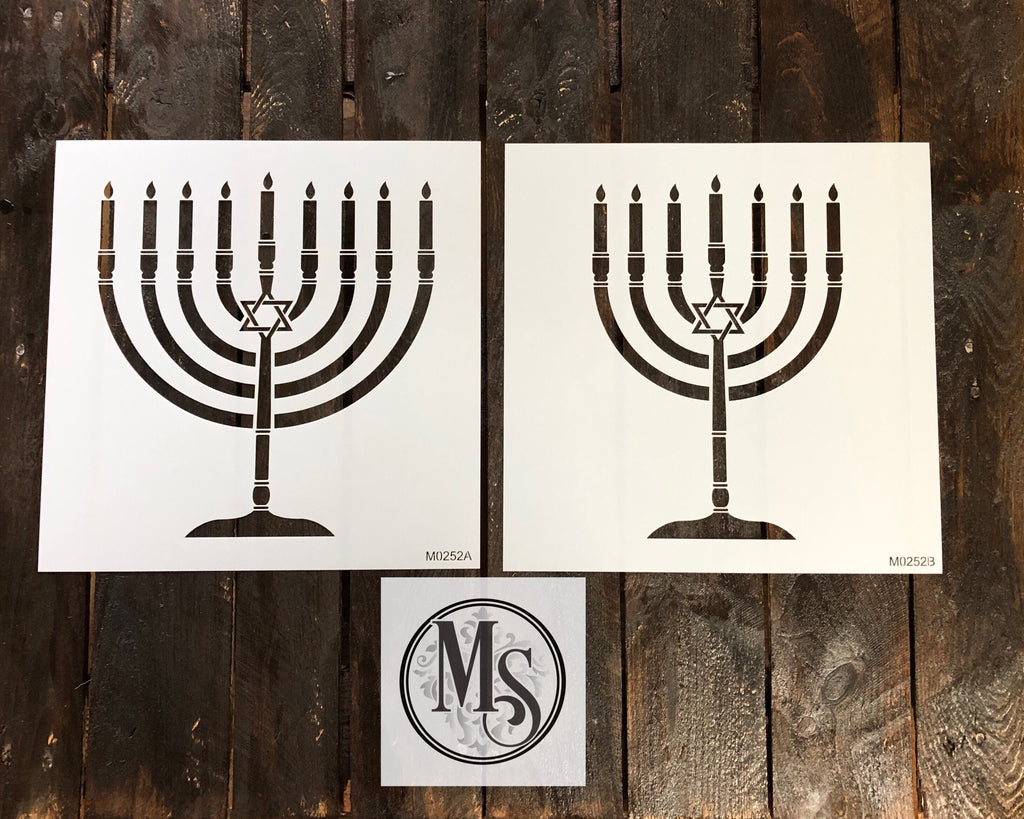 M0252 Menorah - 2 versions available