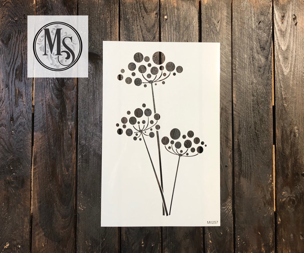 M0257 Stylized Wildflower