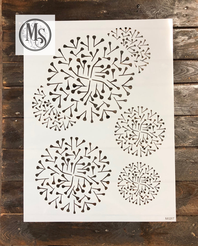 M0267 Decorative Circle Stencil
