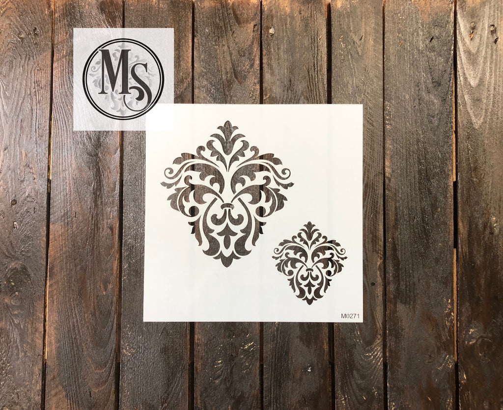 M0271 Double Damask design