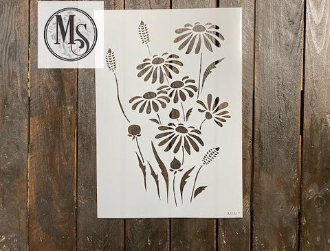 M0317 wild daisies - available in 3 sizes