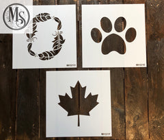 M0321 Decorative O options (6 different designs)