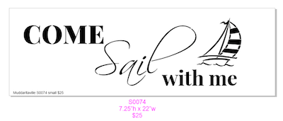 S0074 Come Sail with Me Small