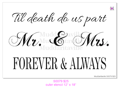 S0079 Til death do us part