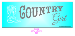 S0092 Country Girl