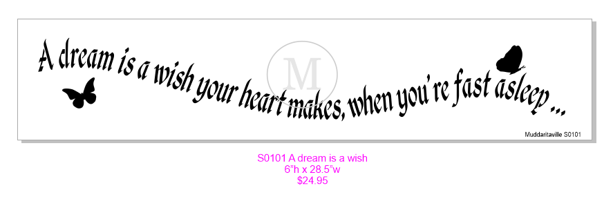 S0101 A dream is a wish your heart makes