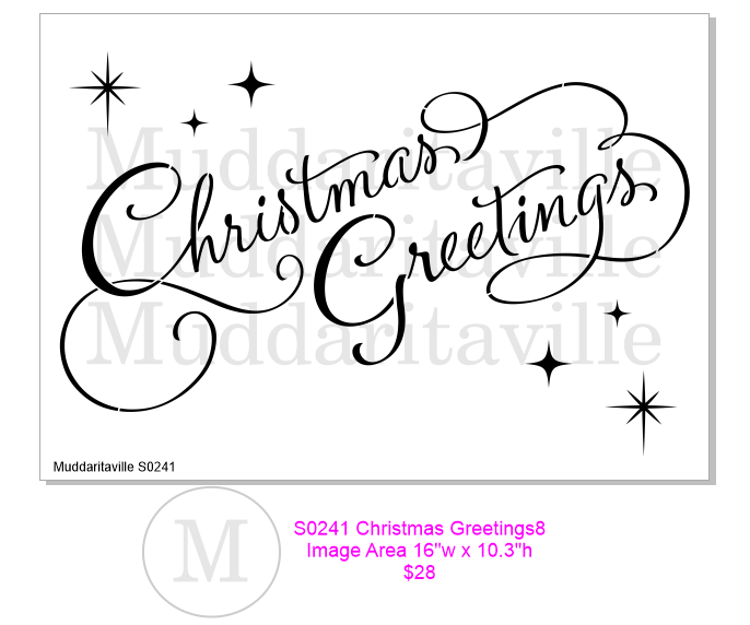 S0242 Christmas Greetings
