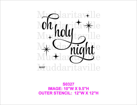 S0327 Oh Holy Night