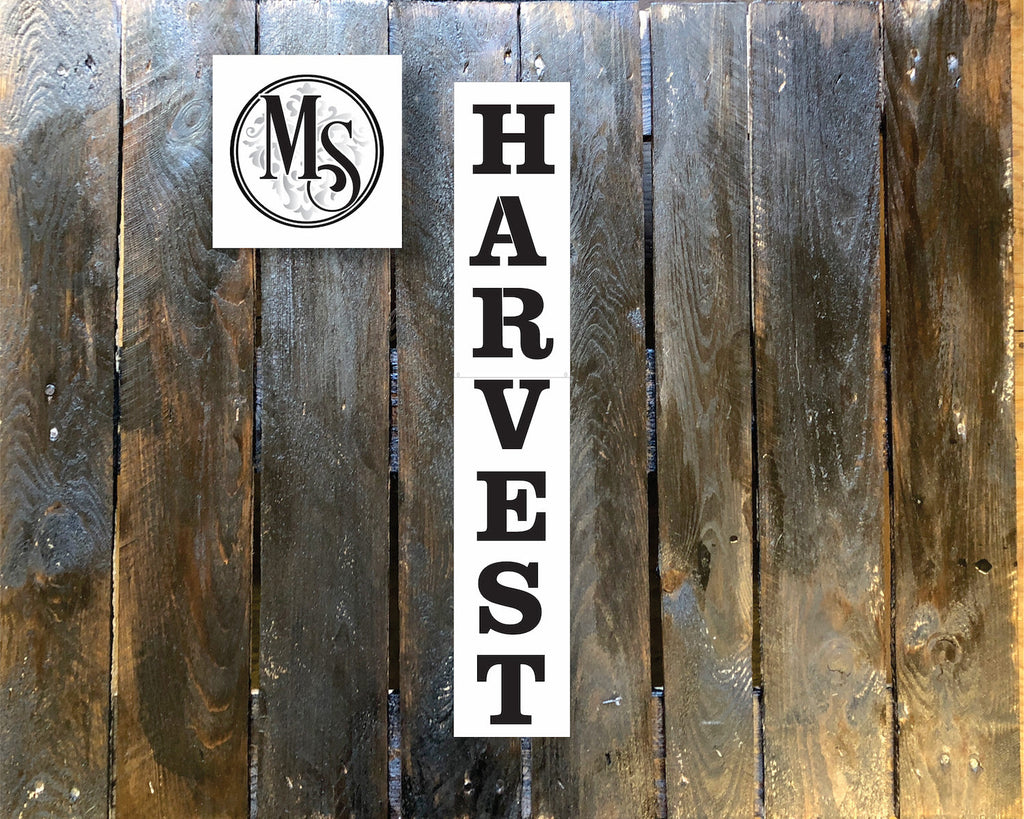 S0410 Harvest Vertical Sign