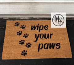 S0416 Wipe your paws