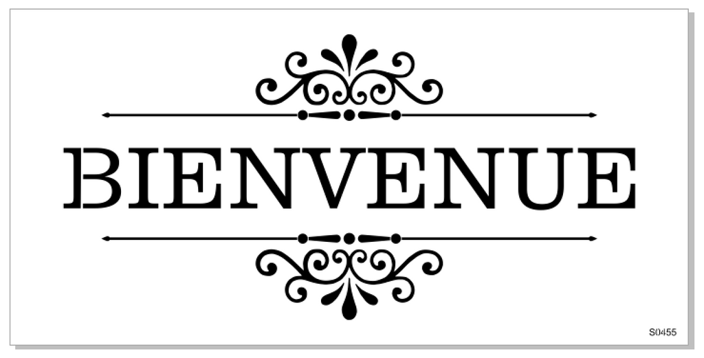 S0455 BIENVENUE - 2 sizes available