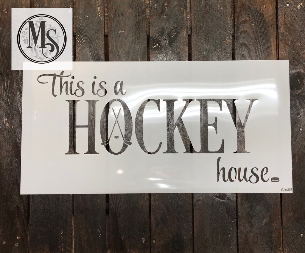 S0463 Hockey House - 2 sizes available