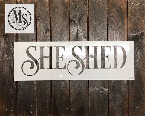 S0471 She Shed
