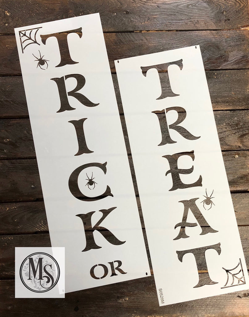 S0528 Trick or Treat Vertical Sign - 3 sizes