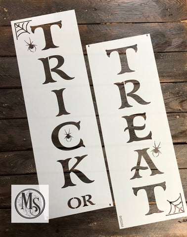 S0528 Treat or Treat Vertical Sign - 3 sizes
