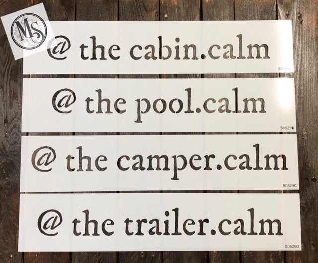 S0529 .calm sayings - 4 different