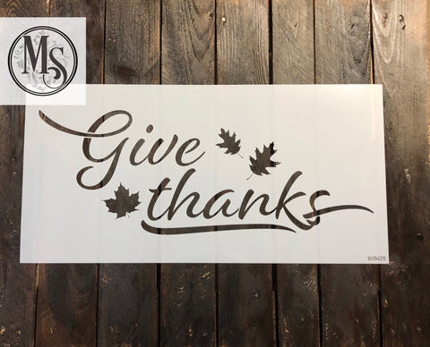 S0542 Give thanks - 2 sizes available