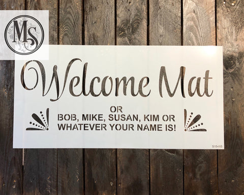 S0548 Welcome Mat - 2 sizes available
