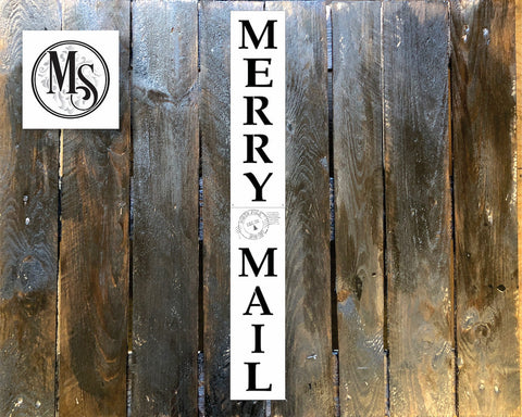 S0568 Merry Mail Vertical