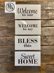 S0571 Add -ons for HOME vertical Sign